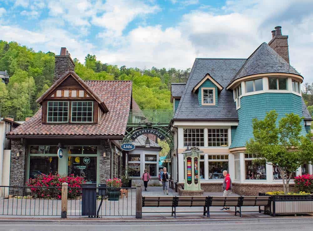 Marketplace in Gatlinburg